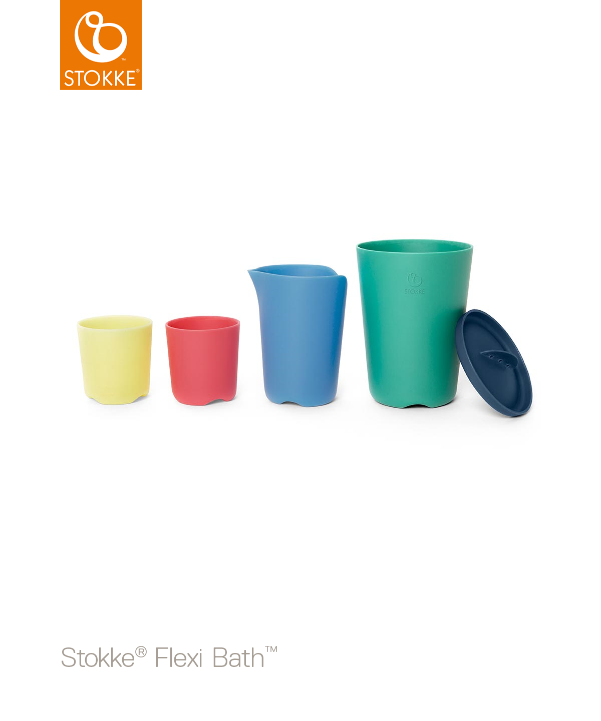 Stokke® Flexi Bath® Toy Cups Multicolour