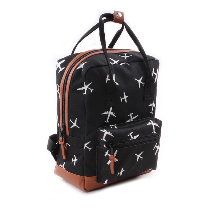 Kidzroom Backpack Black & White - Boxy