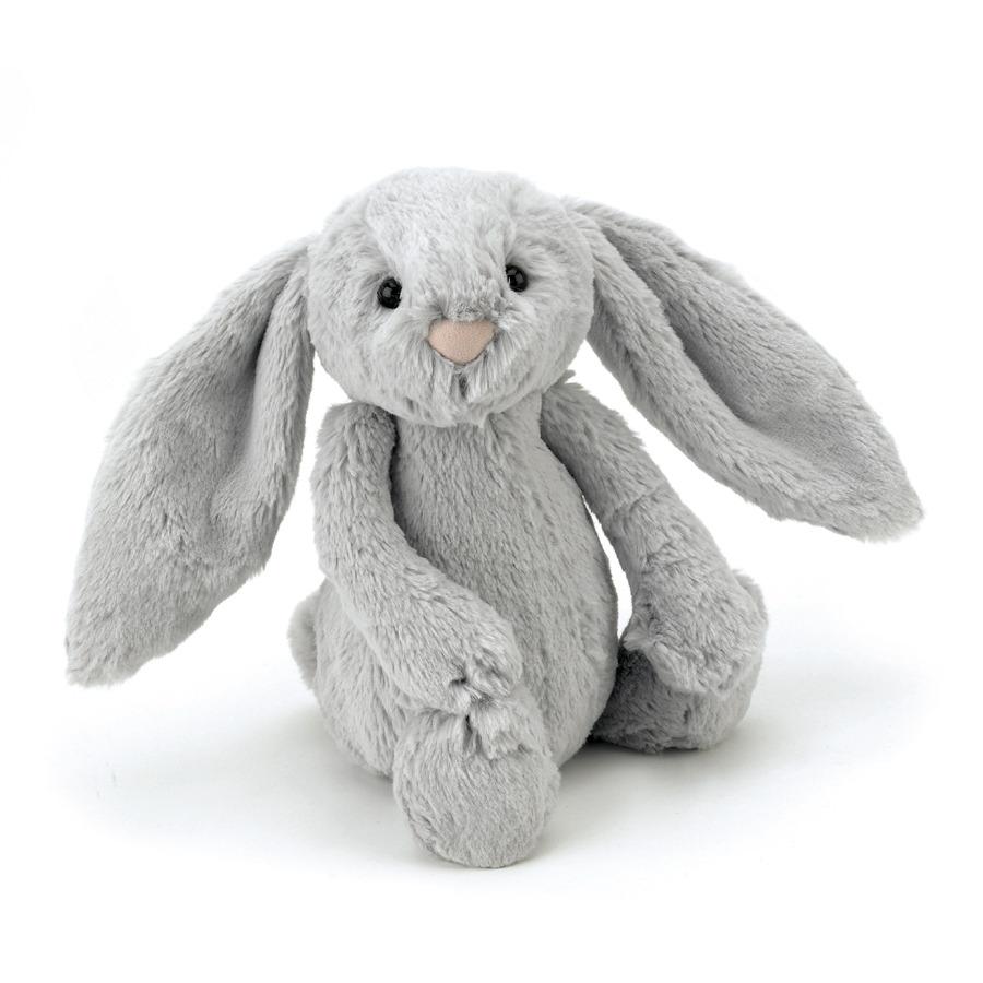Jellycat Bashful Silver Bunny - 18 cm.