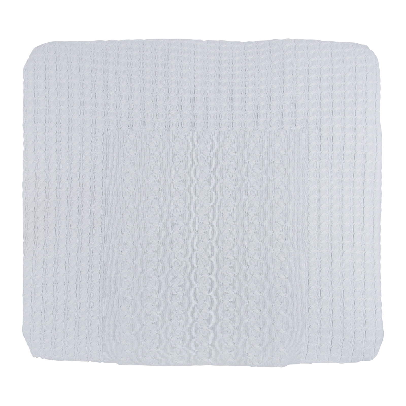 baby 39 s only changing pad cover cable 75 x 85 cm baby plus b v. Black Bedroom Furniture Sets. Home Design Ideas