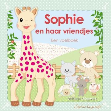 Sophie the Giraffe Baby Feel booklet: Sophie En Haar Vriendjes