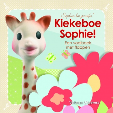 Sophie the Giraffe Baby Feel Booklet: Kiekeboe Sophie!