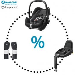 Maxi-Cosi & Bugaboo - Pebble Plus | 2wayFix | Adapters