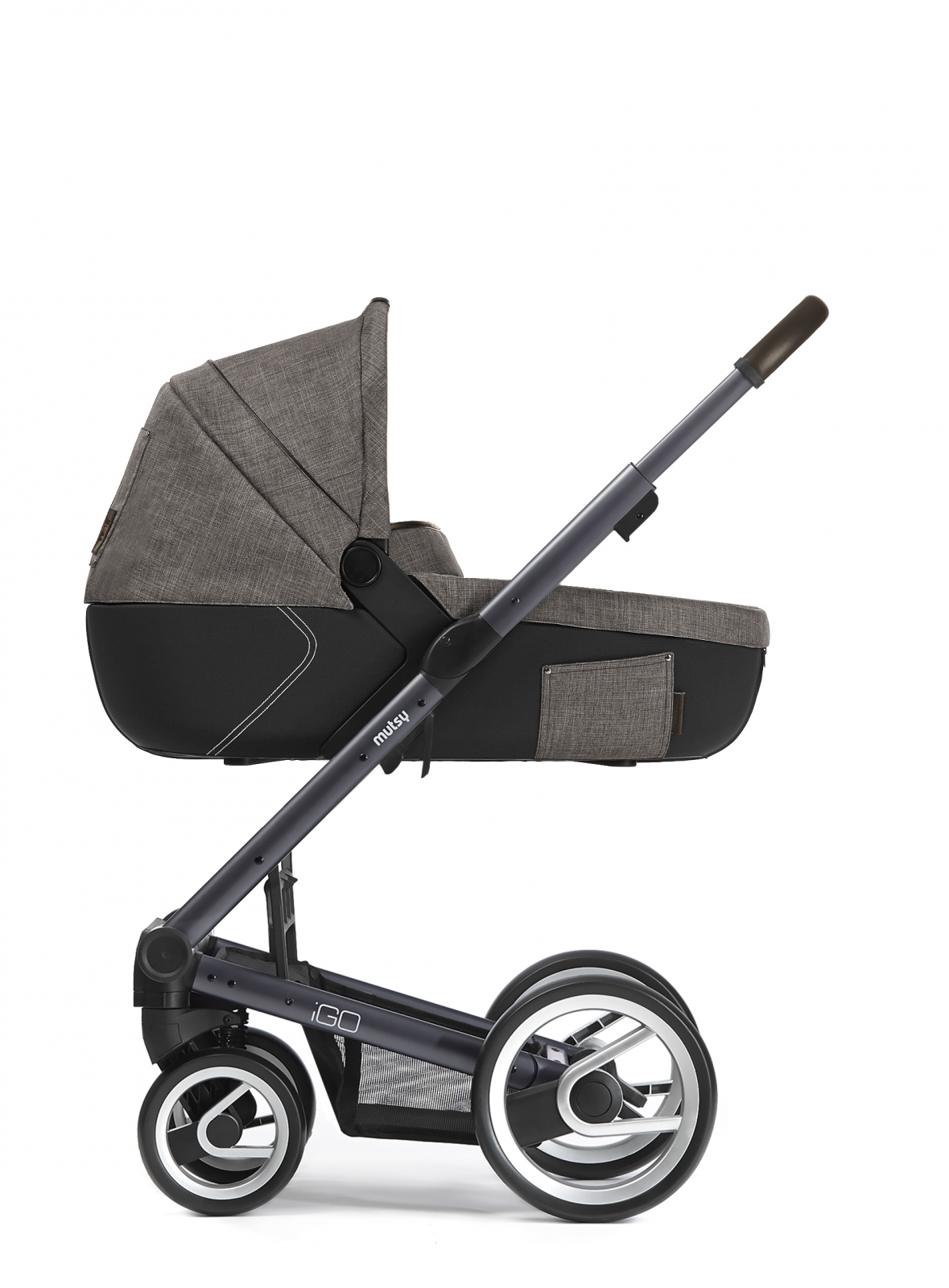 Mutsy Igo Farmer - Dark Grey Chassis