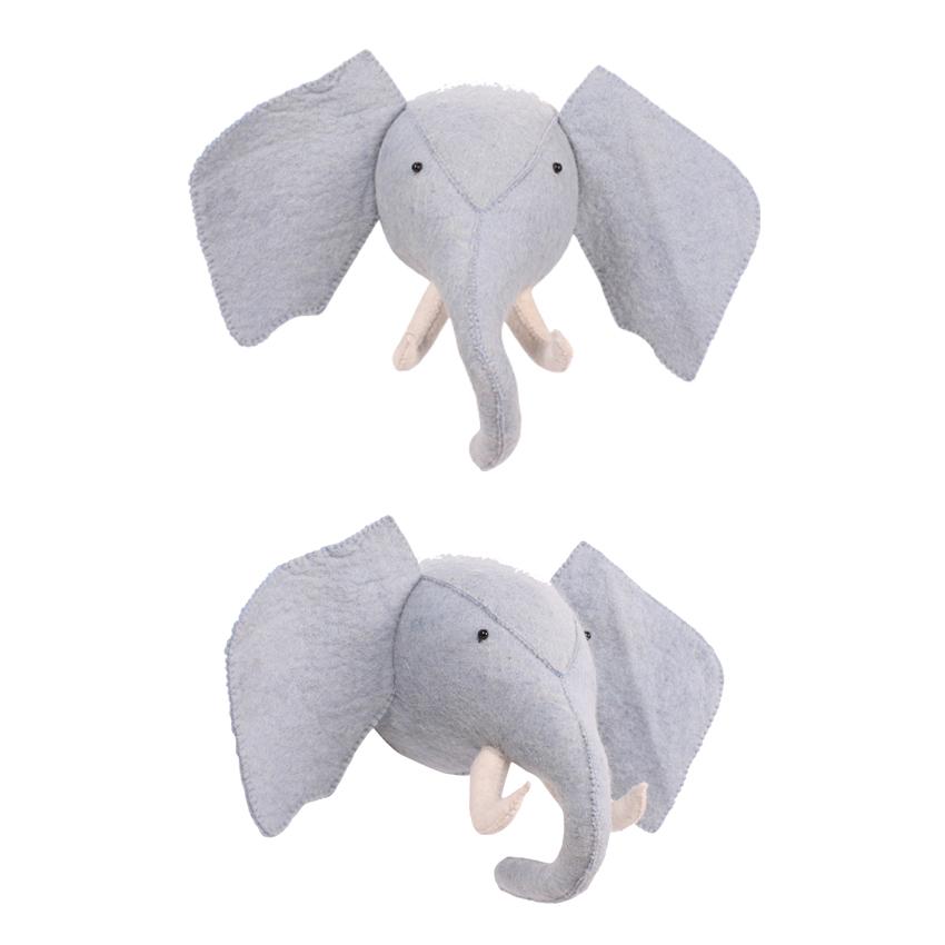 KidsDepot Zoo Animal Head Elephant