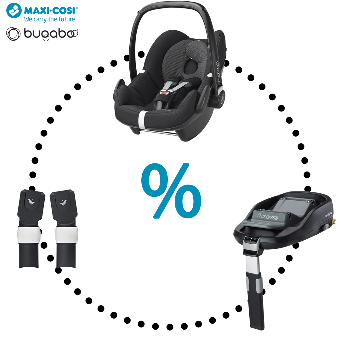 Maxi-Cosi & Bugaboo - Pebble | FamilyFix | Adapters