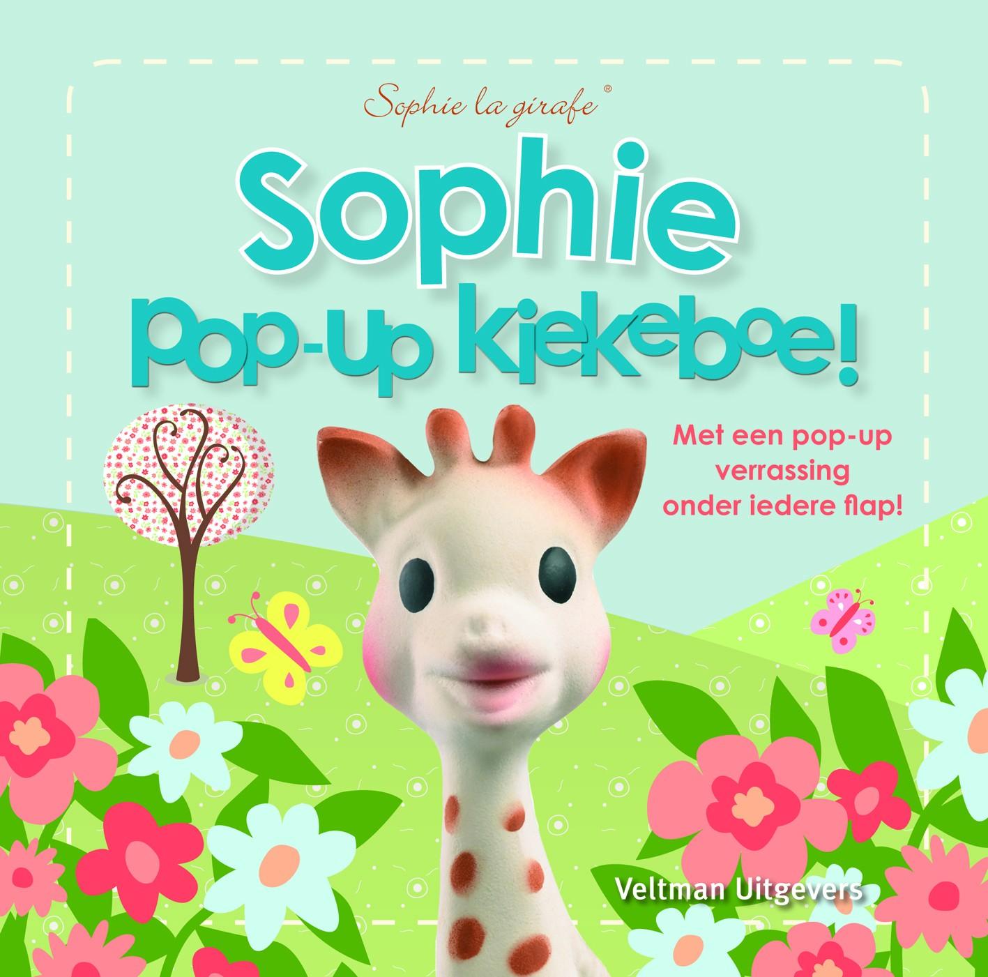 Sophie the Giraffe Pop-Up Booklet: Kiekeboe!