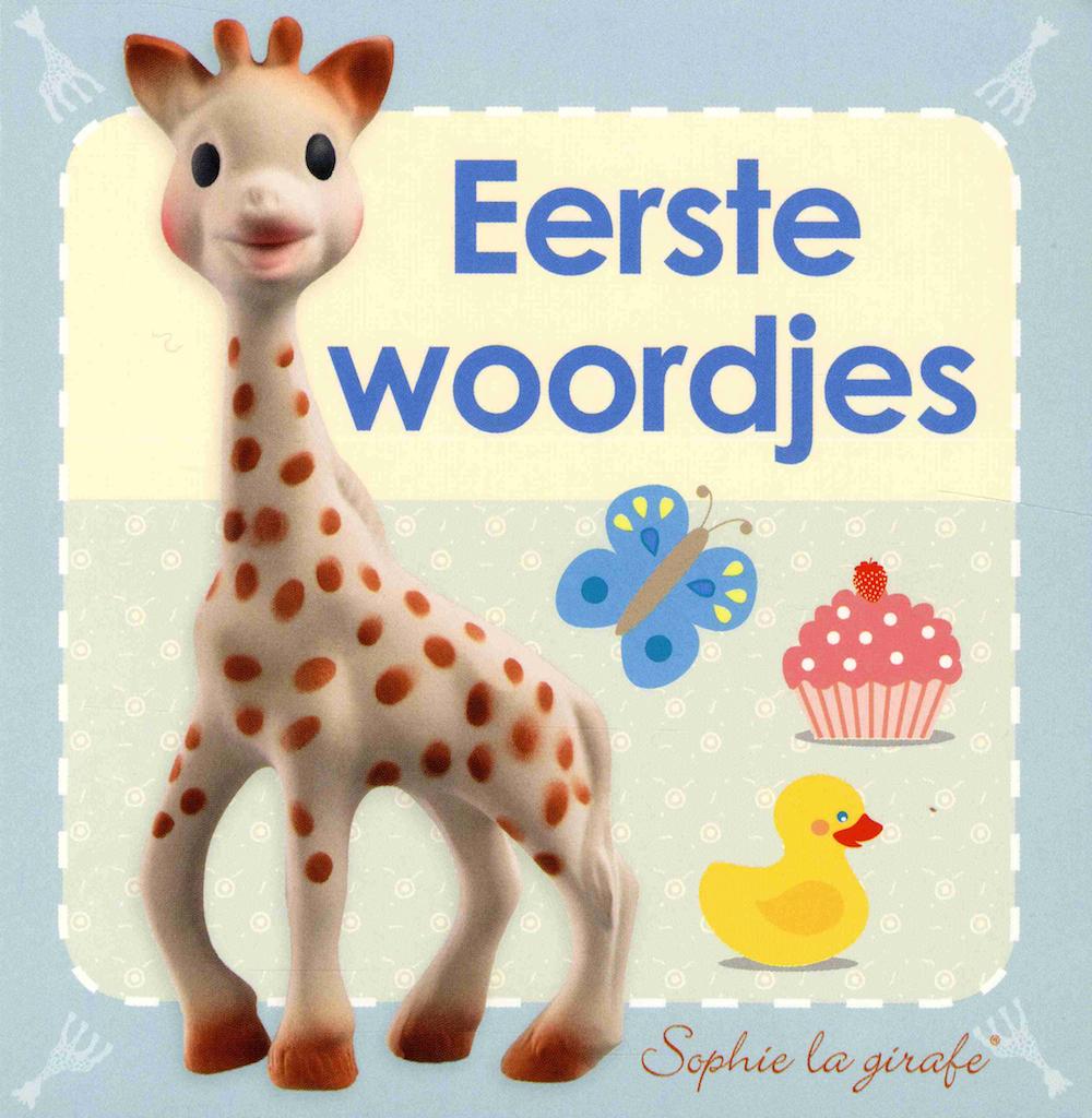 Sophie de Giraf Boekje: Eerste Woordjes