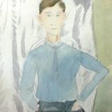 Herbert Fiedler - Jongeman met stropdas