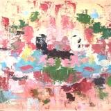 Nagy - Abstracte voorstelling roze