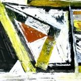 Feiko Wierstra - Abstractie met geel