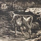 Willem de Zwart - Koeien in drenkplaats