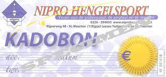 Nipro Hengelsport €10,- Kadobon